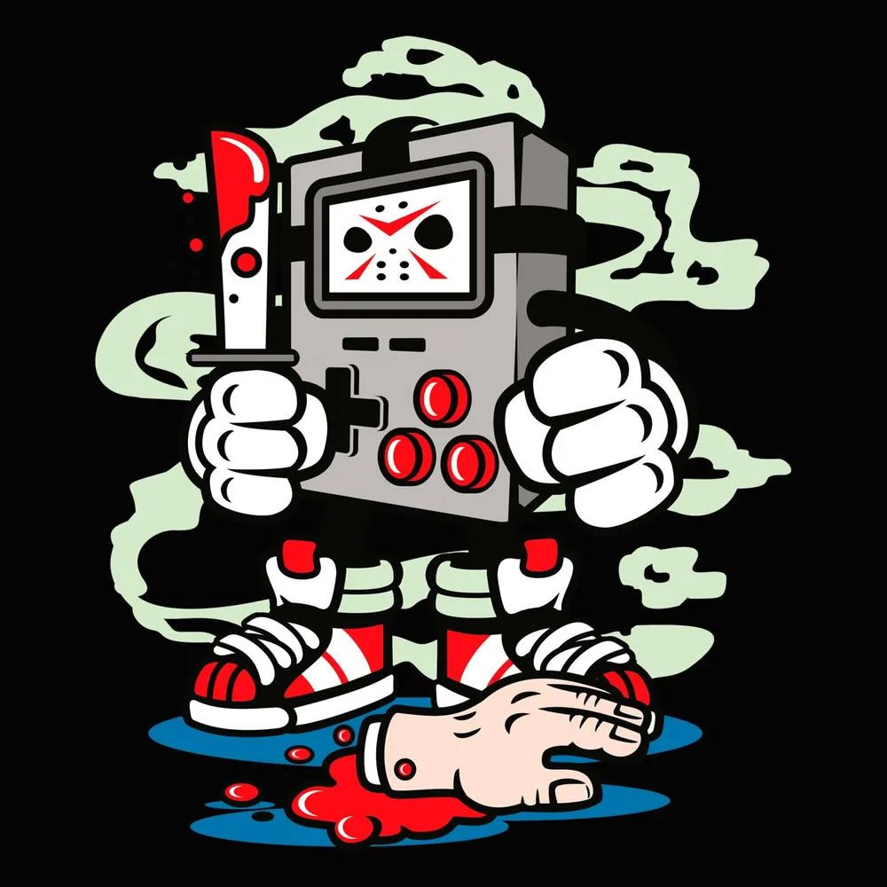 Camiseta Gamers Killer Preta