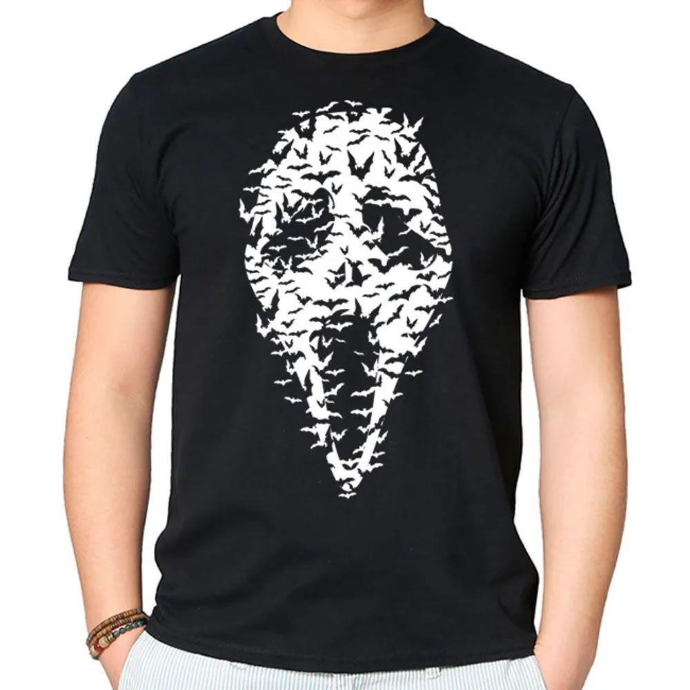 Camiseta Ghost Face Preta
