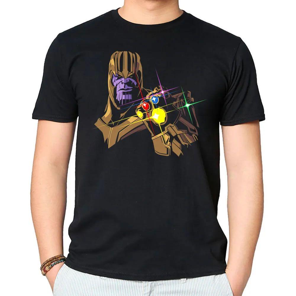 Camiseta Infinity Stones Preta