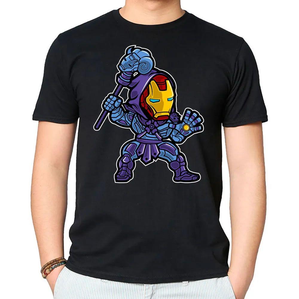 Camiseta Iron Skeletor Preta