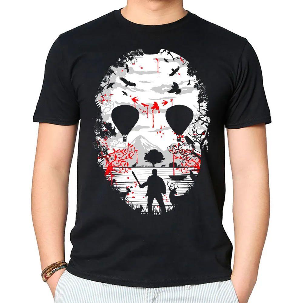 Camiseta Lago de Cristal Preta