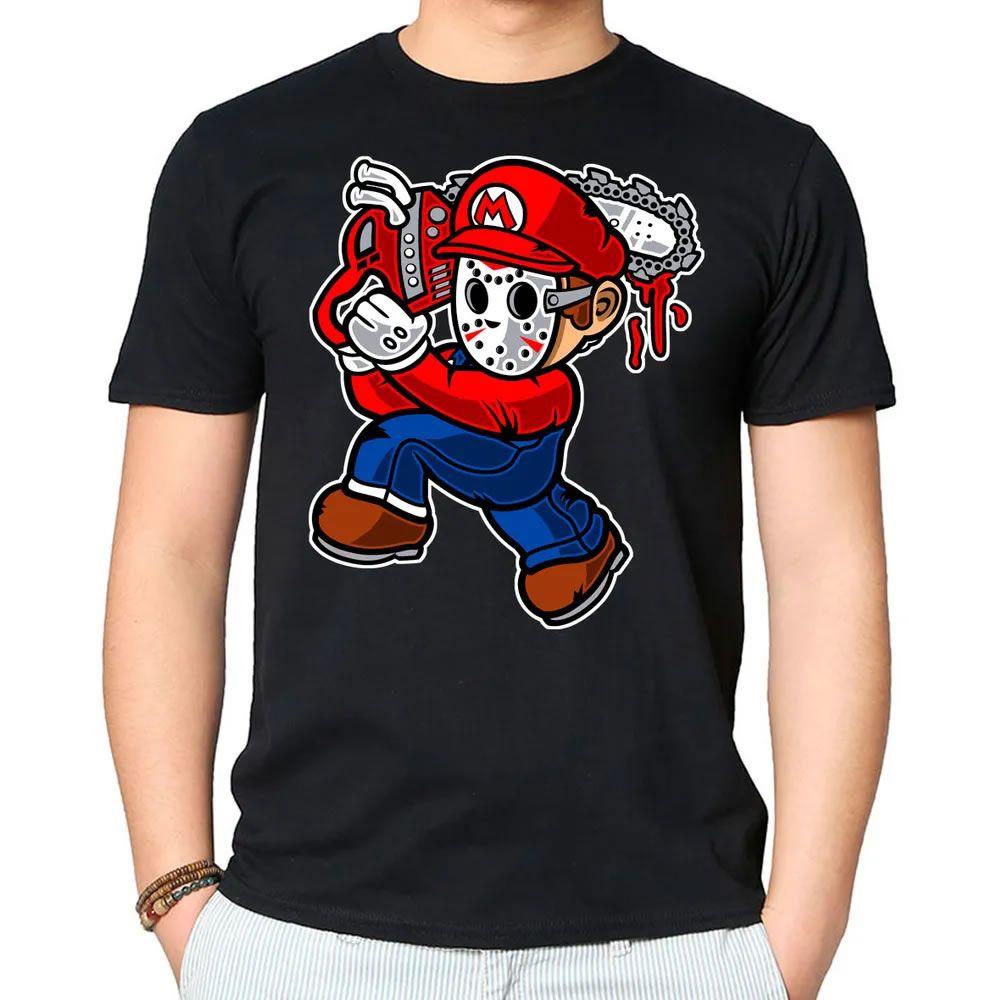 Camiseta Mario Massacre Preta