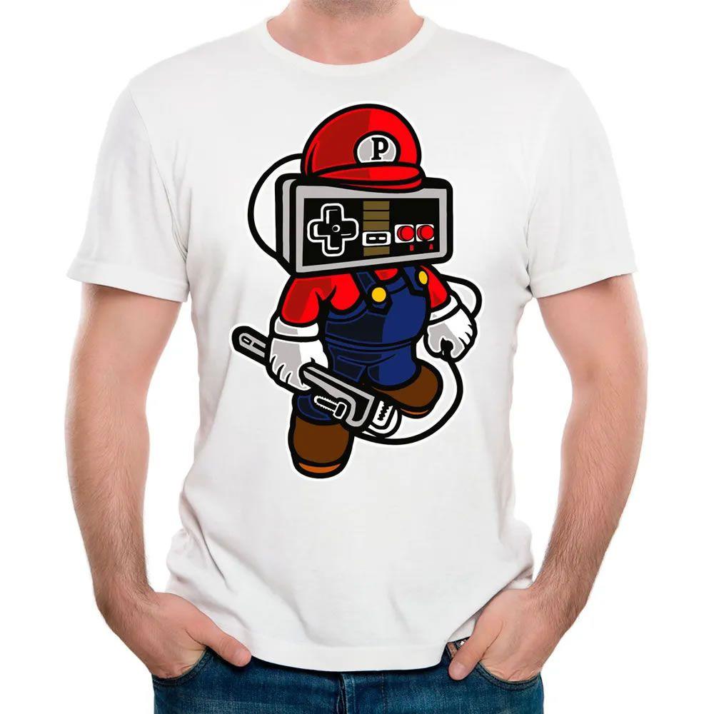 Camiseta Play Hard Branca