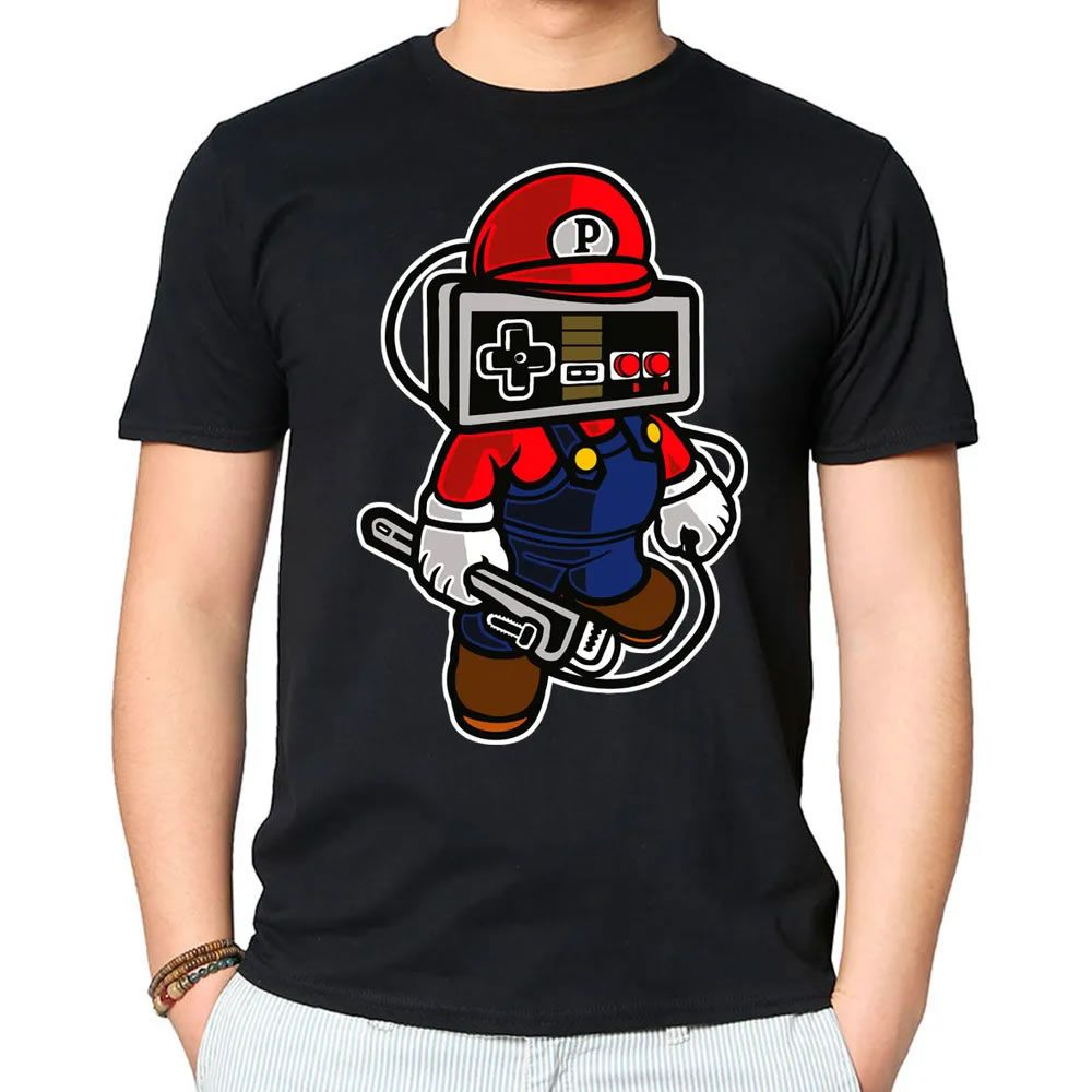 Camiseta Play Hard Preta