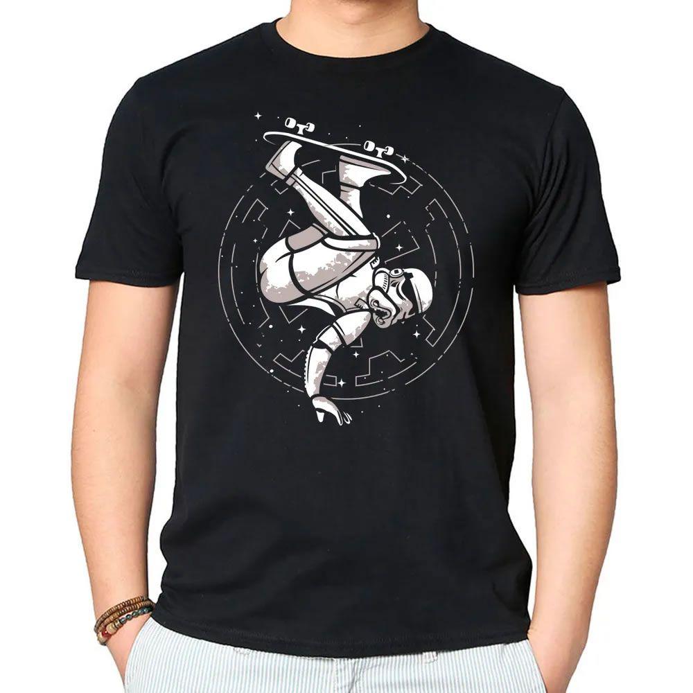 Camiseta Skate Trooper Preta