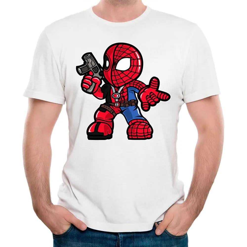Camiseta Spider Merc Branca