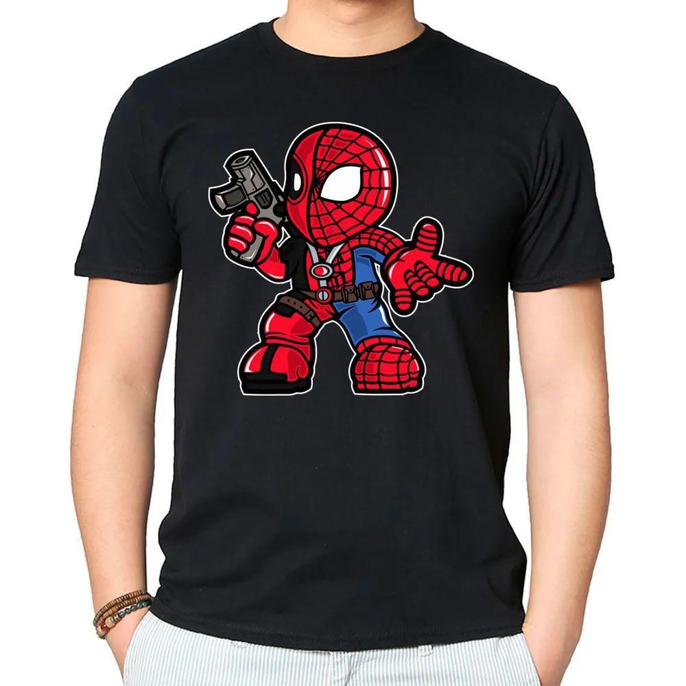 Camiseta Spider Merc Preta