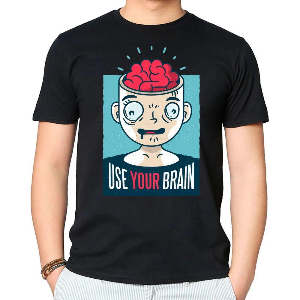 Camiseta Use Seu Cérebro II Preta
