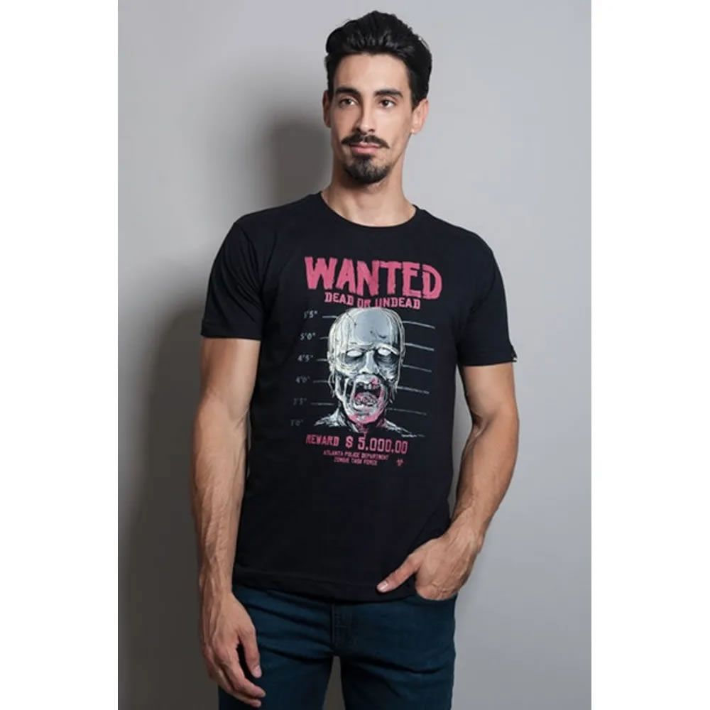 Camiseta Wanted Zombie