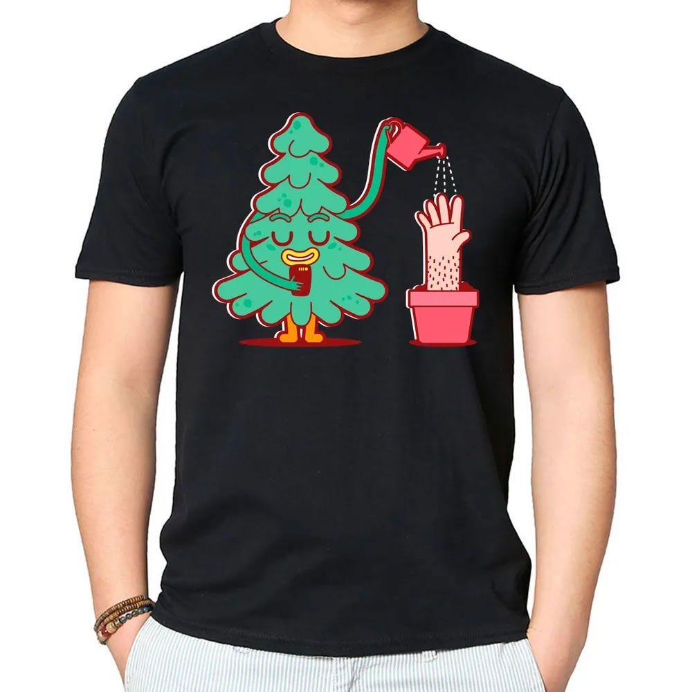 Camiseta Watering Tree Preta