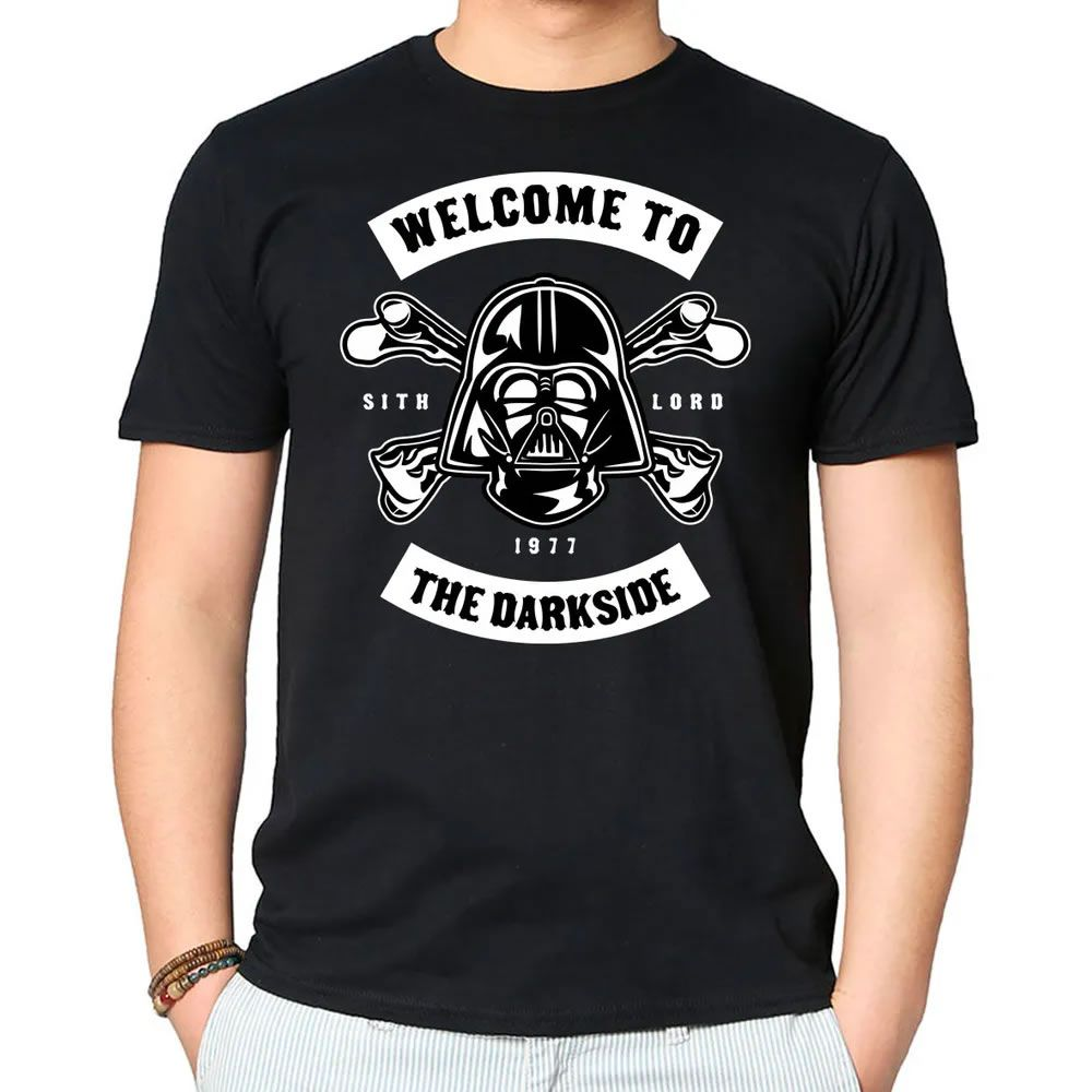 Camiseta Welcome To The Darkside Preta