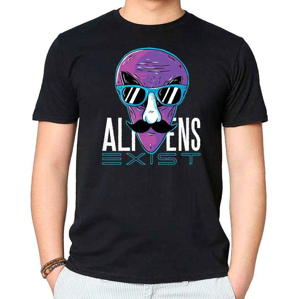 Camisetas Aliens Existem