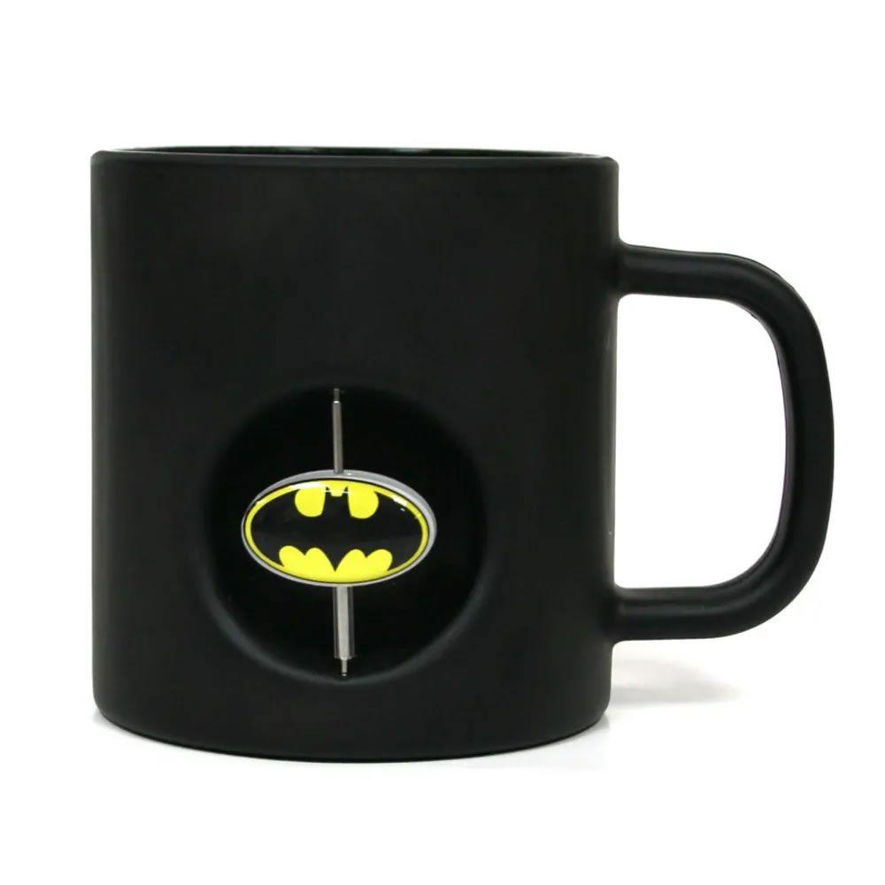 Caneca 3D Batman Preta