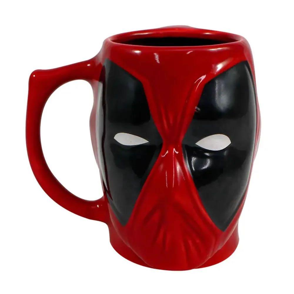 Caneca 3D Deadpool Marvel