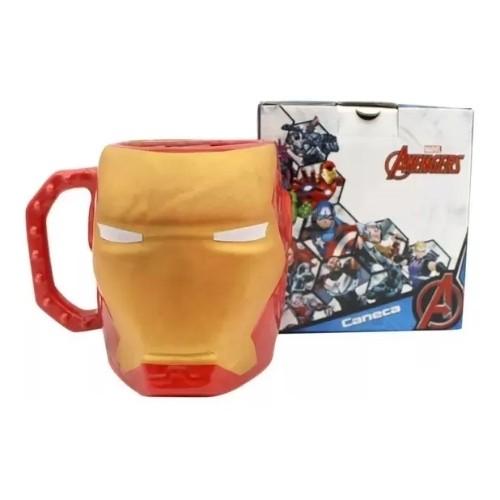 Caneca 3D Iron Man - 350ml