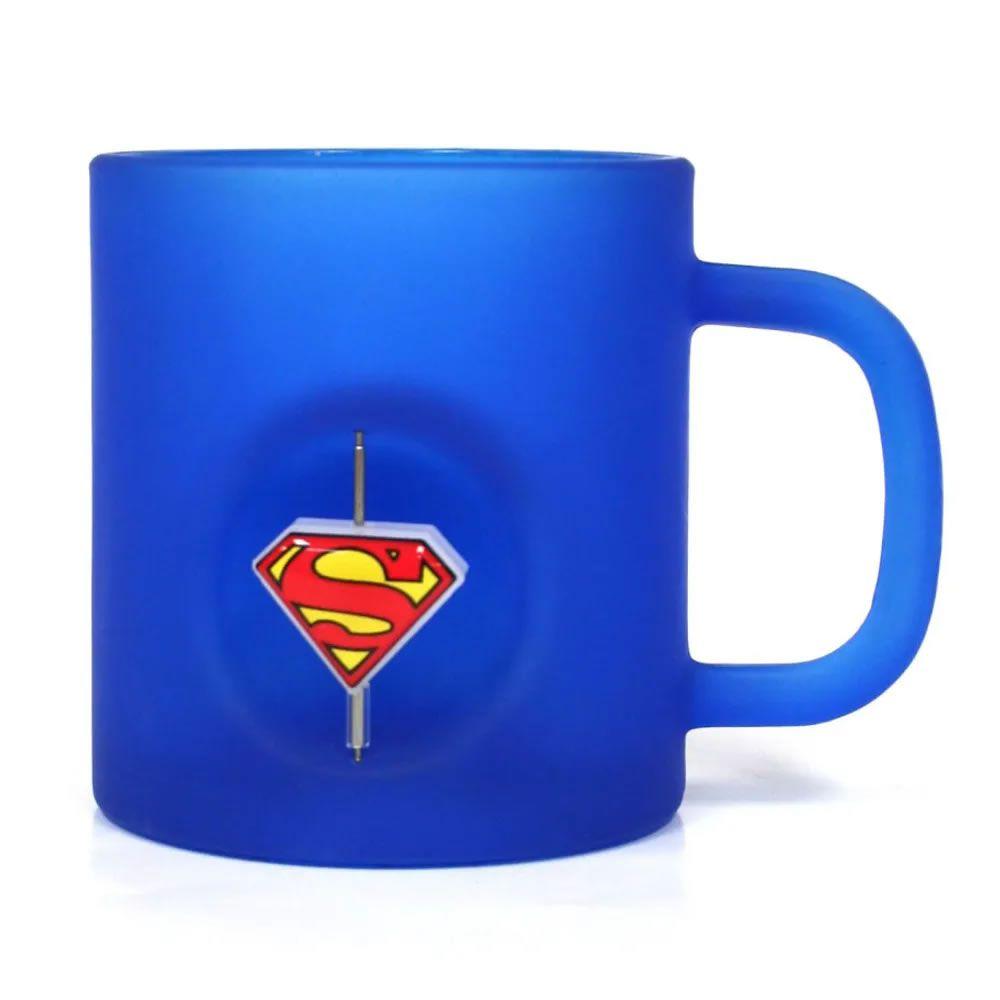 Caneca 3D Super-Homem Azul