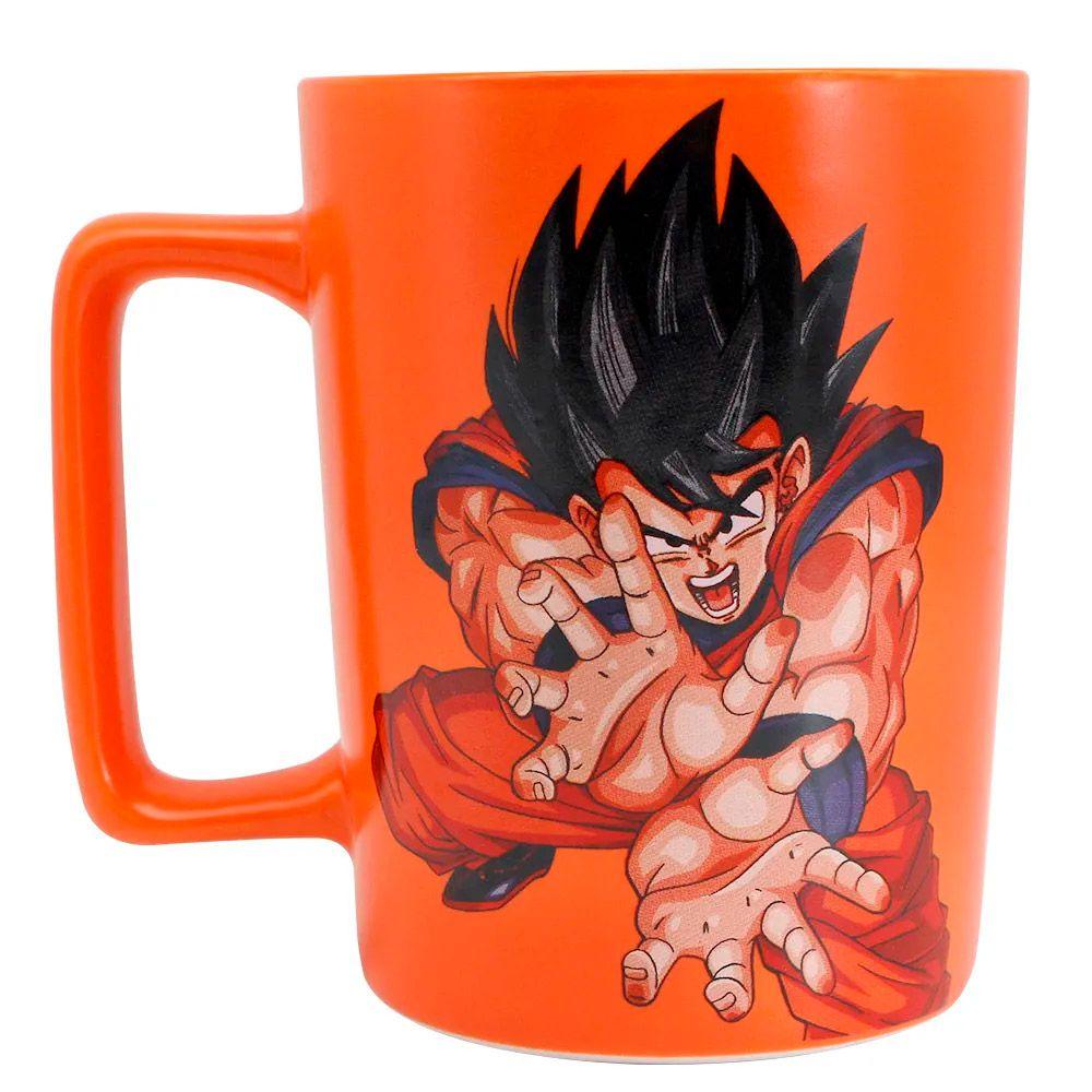 Caneca Alça Quadrada Goku - Dragon Ball