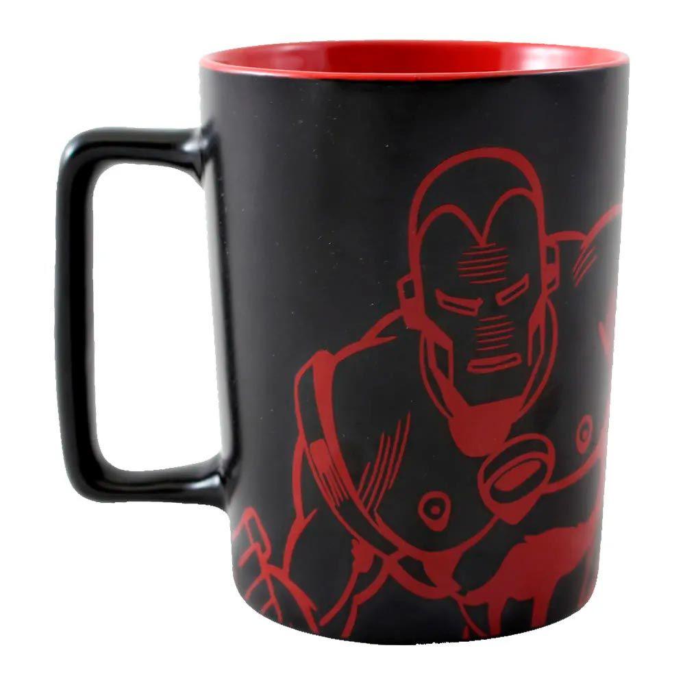 Caneca Alça Quadrada Iron Man