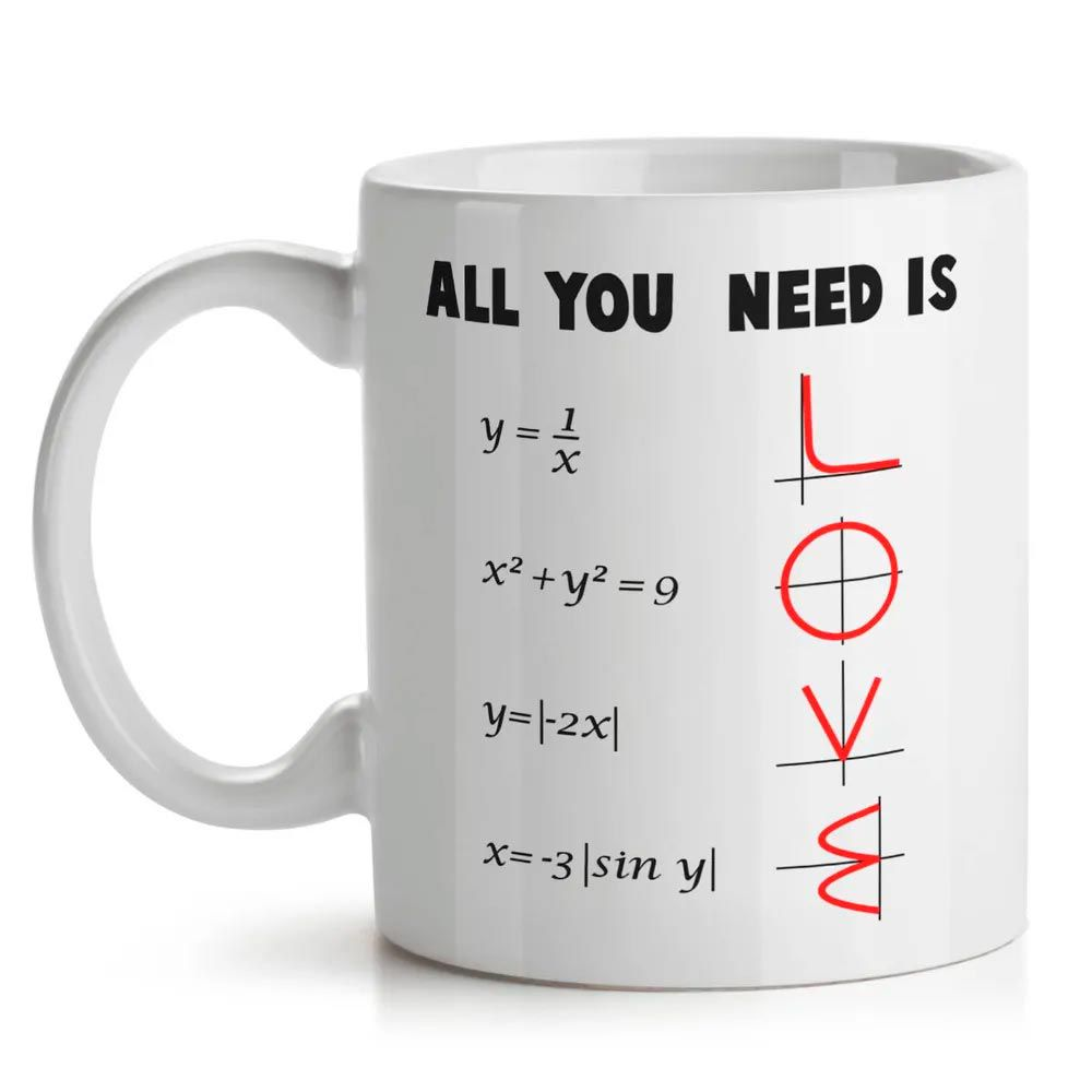 Caneca All You Need is Love - Math Style