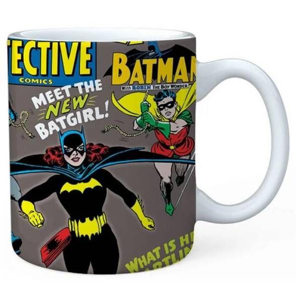 Caneca Batgirl DC Introducing