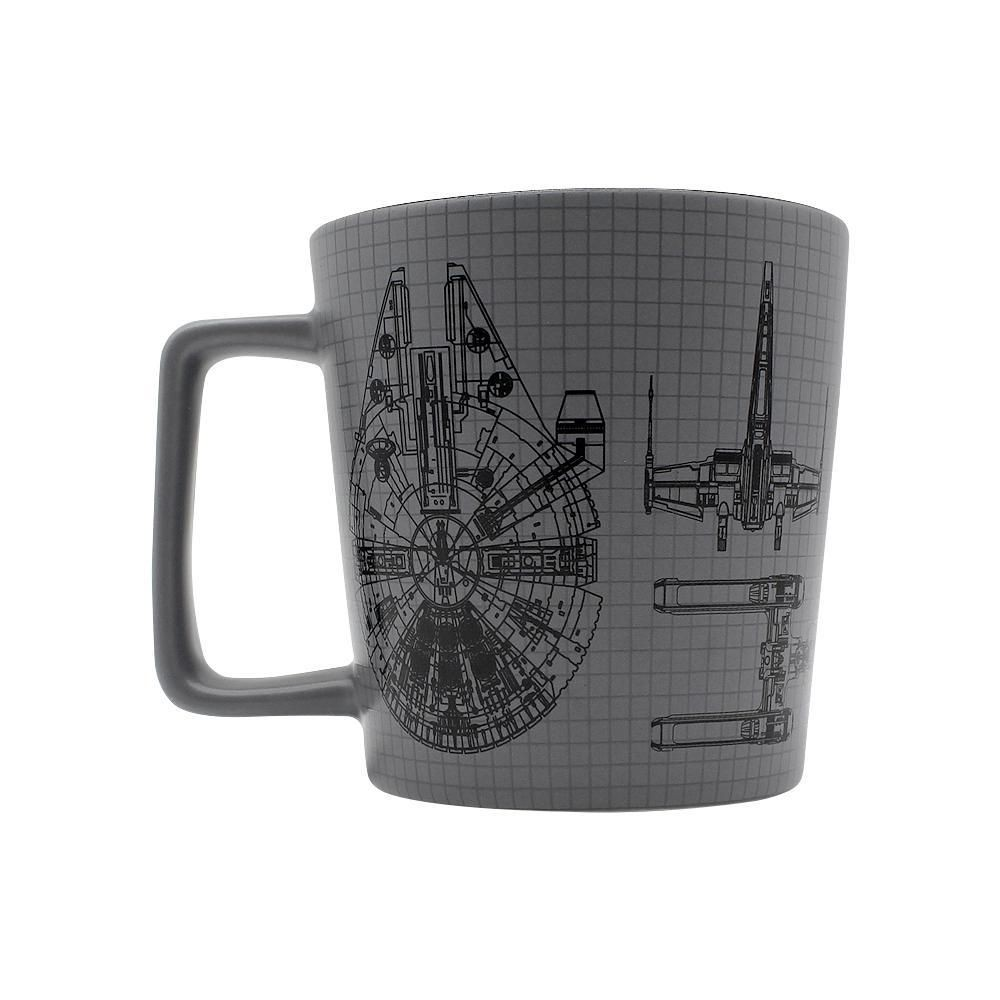 CANECA STAR WARS BUCK NAVES