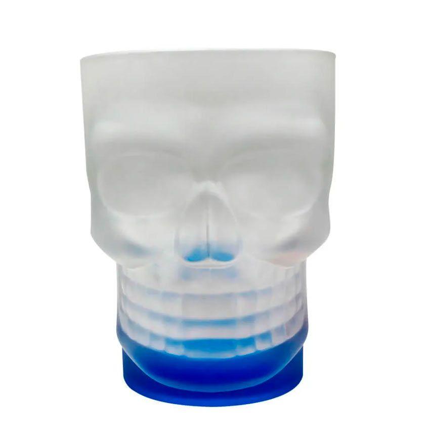 Caneca Caveira - Skull Mug Azul