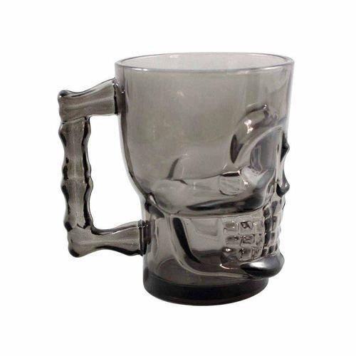 Caneca Caveira Skull Mug Preta