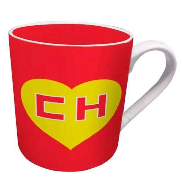 Caneca Chapolin Logo Vermelho