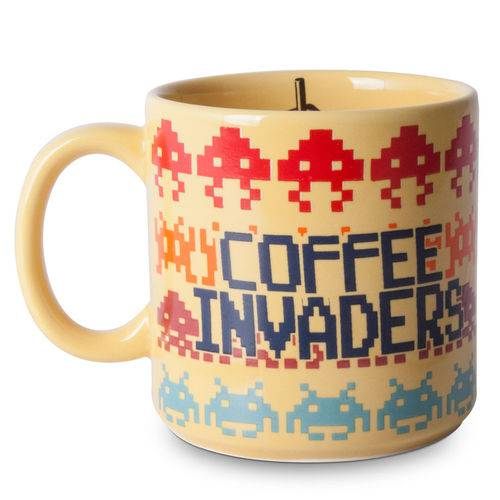 Caneca Coffee Invaders