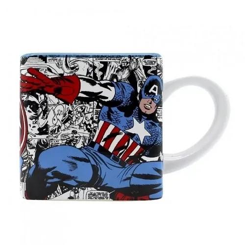 Caneca cubo 300ML Capitão América