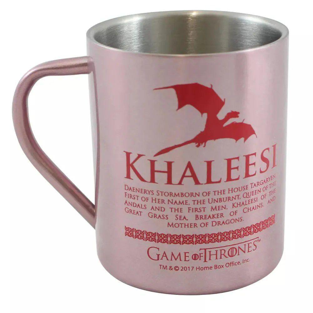 Caneca de Aço Khalessi