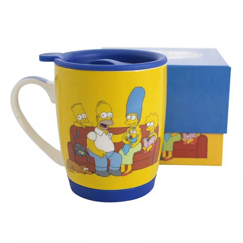 Caneca Família The Simpsons