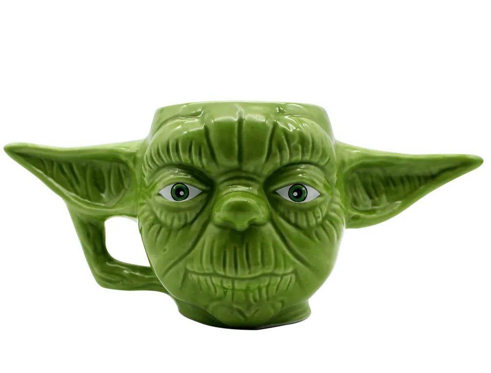 Caneca Formato 3D Yoda Star Wars