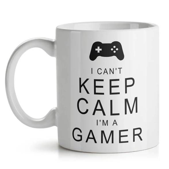 Caneca Gamer Can't Keep Calm