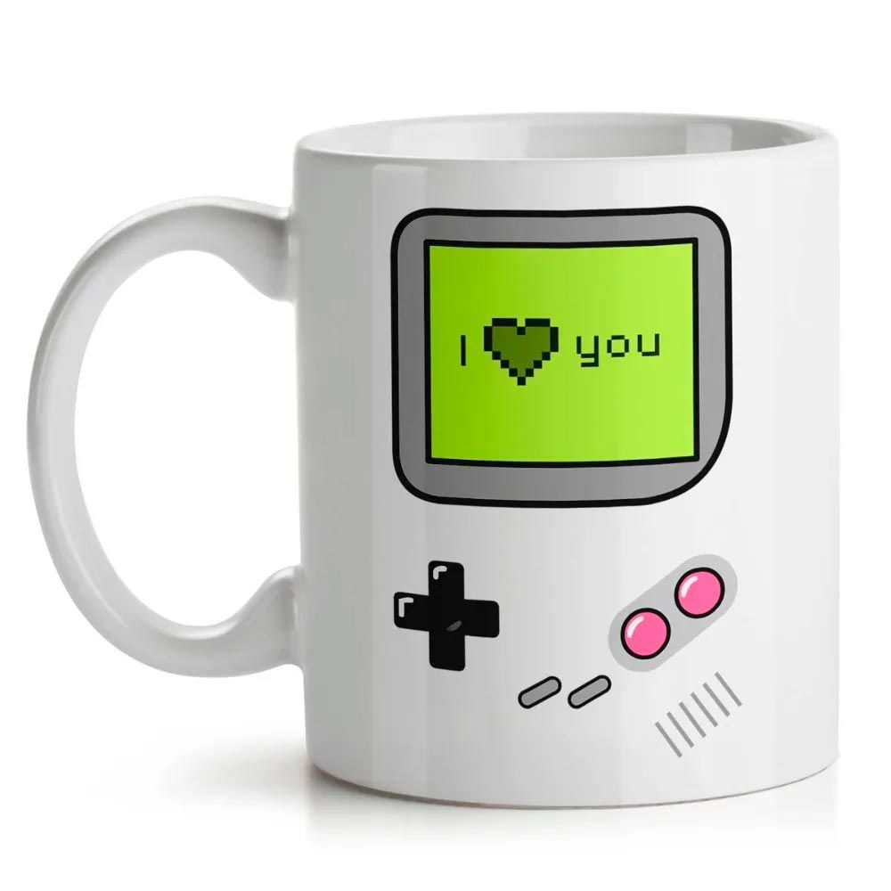 Caneca Gamer I Love You