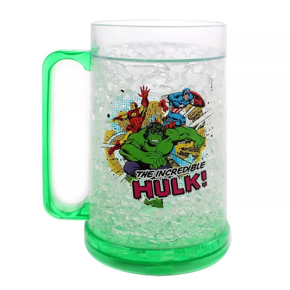 Caneca Gelo Hulk e a Galera Marvel