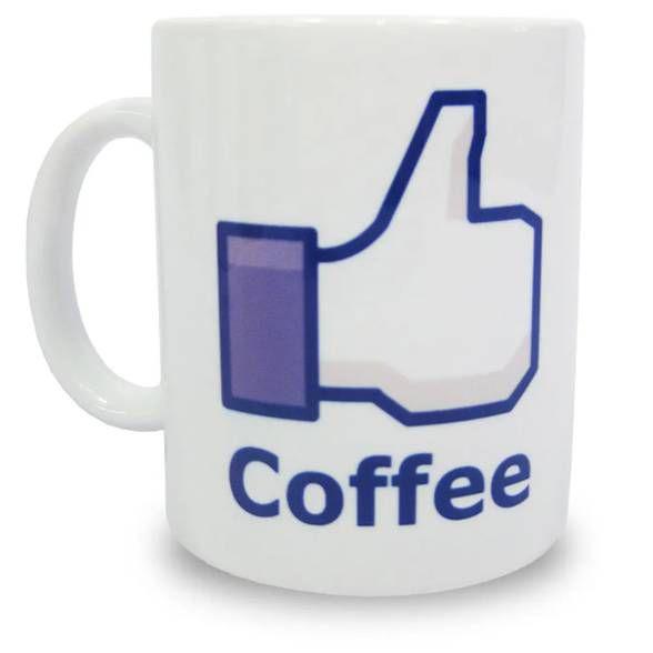 Caneca Like Coffee - Curtir Café