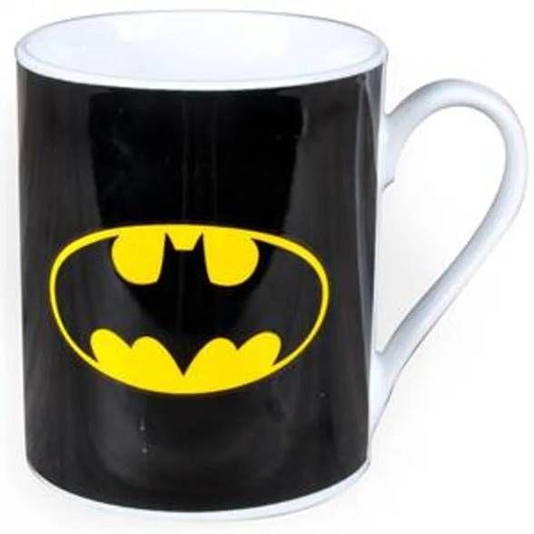 Caneca Logo do Batman Preto