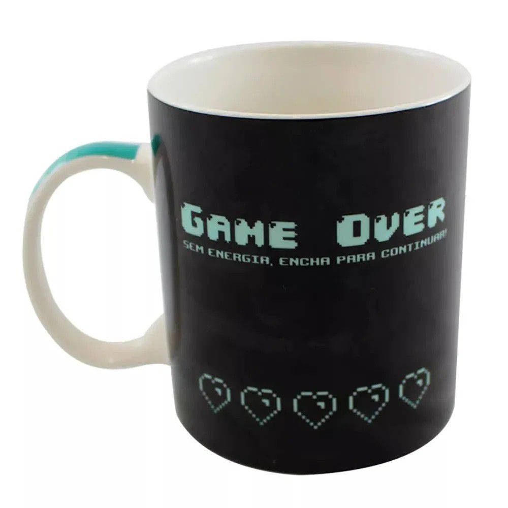 Caneca Magic Game Over