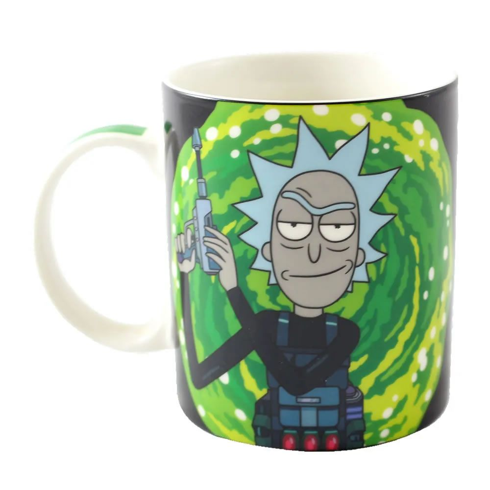 Caneca Magic Rick And Morty