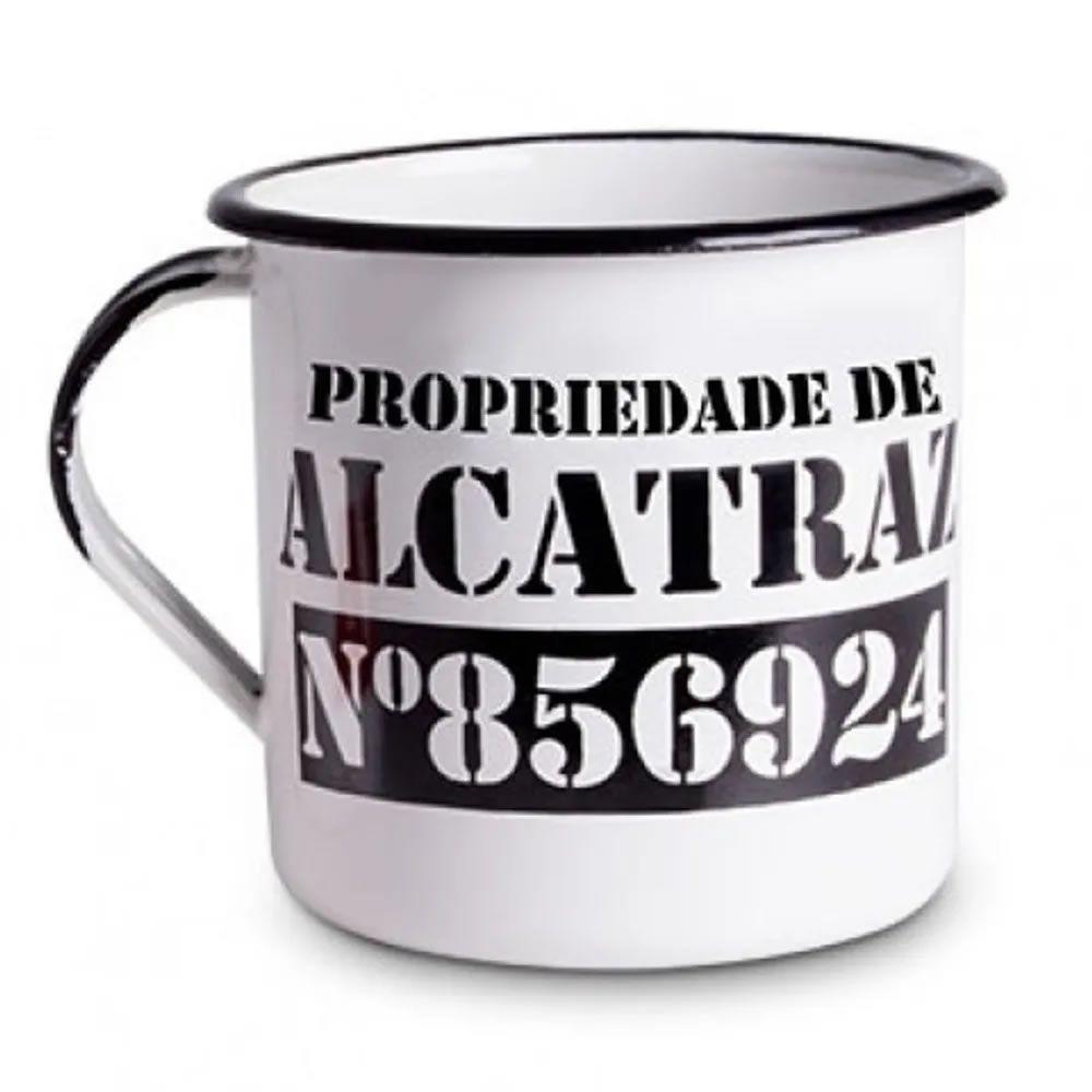 Caneca Metal G Alcatraz