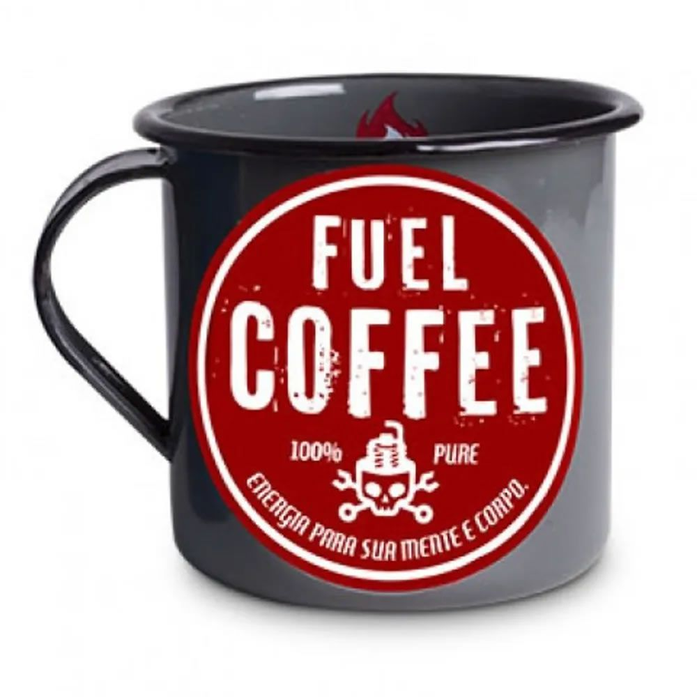 Caneca Metal G Fuel Coffee