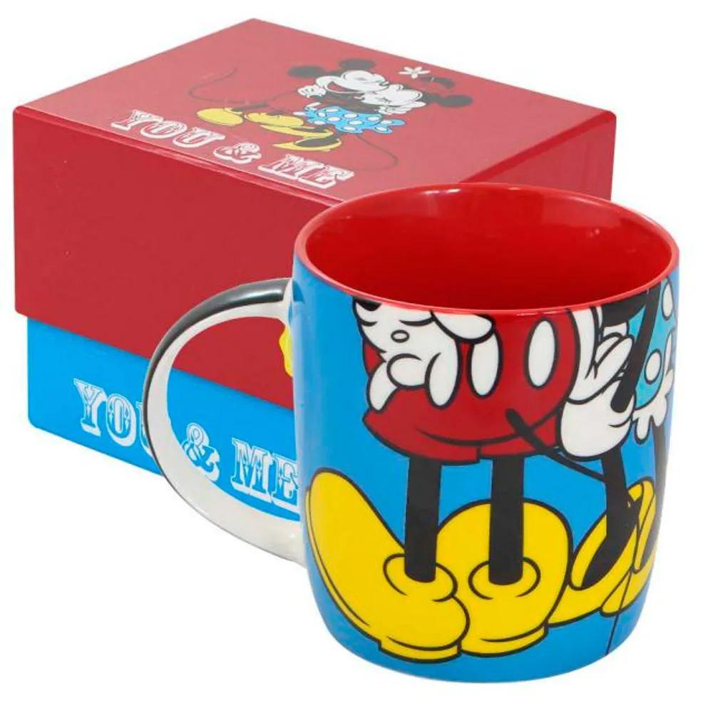 Caneca Mickey e Minnie You Anda Me