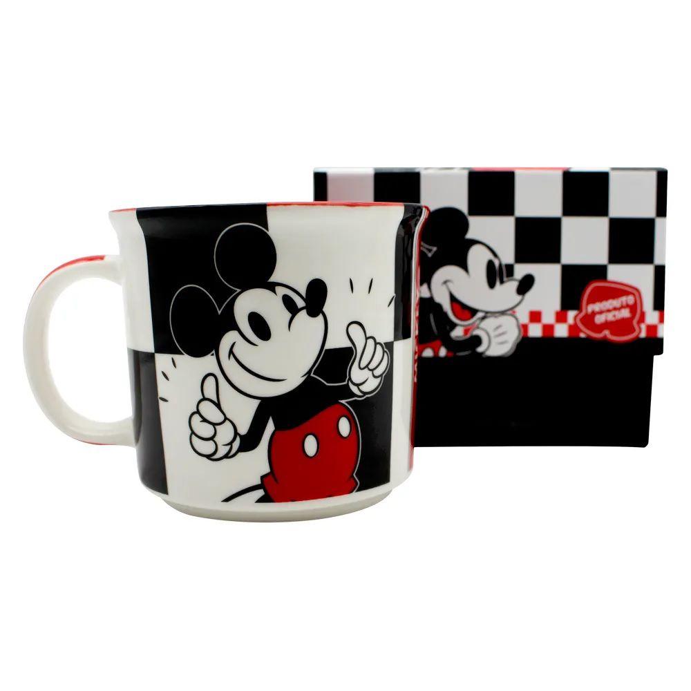 Caneca Mickey Mouse -  Xadrez