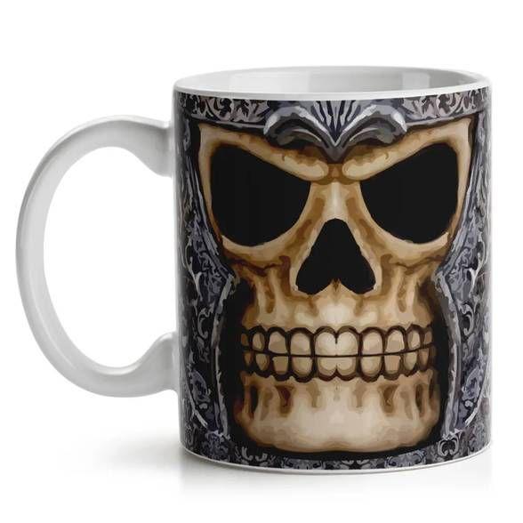 Caneca Old Skull