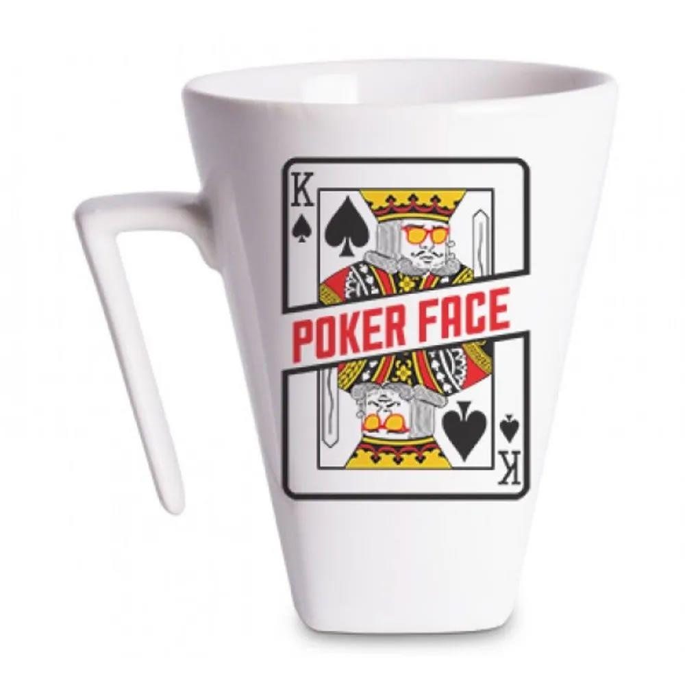 Caneca Plateau Poker face
