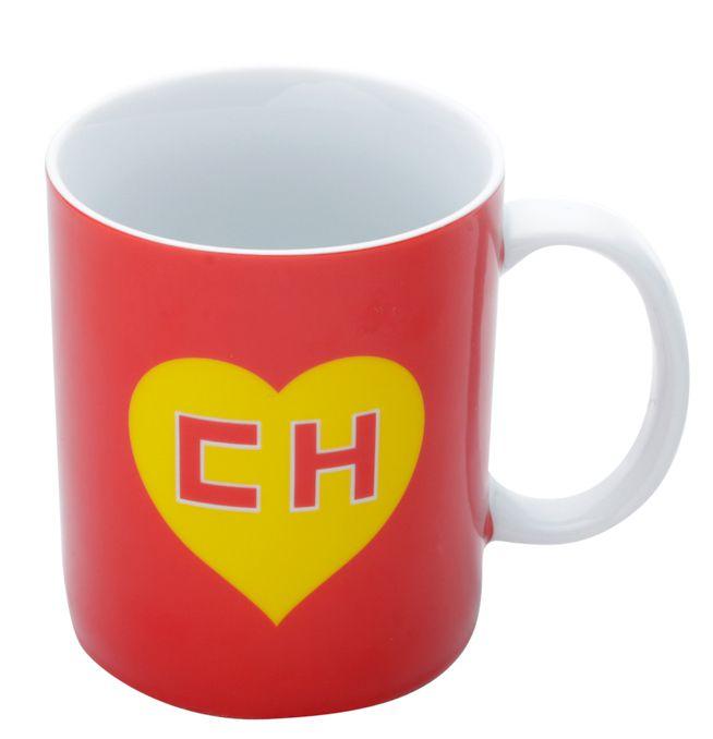 Caneca Porcelana Ch Chapolin Logo Vermelha