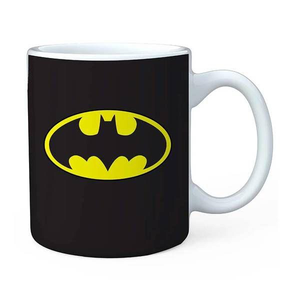 Caneca porcelana DC logo Batman