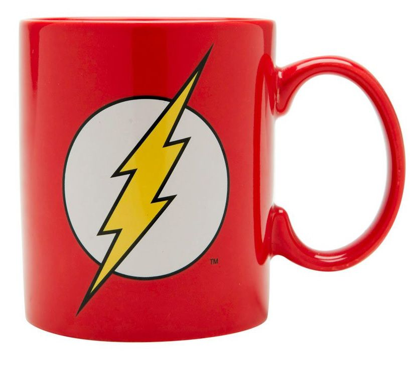 Caneca Porcelana The Flash Logo