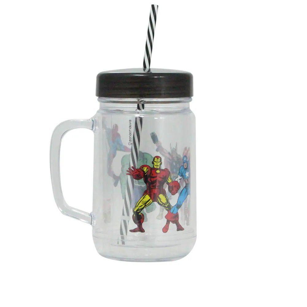 Caneca Pote Heróis Comics